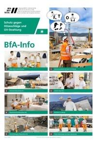 BST Info: Protection contre les coups de chaleur et rayonnement UV