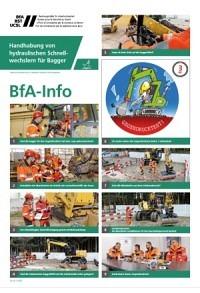 BST Info: Utilisation des attaches rapides hydrauliques pour pelles